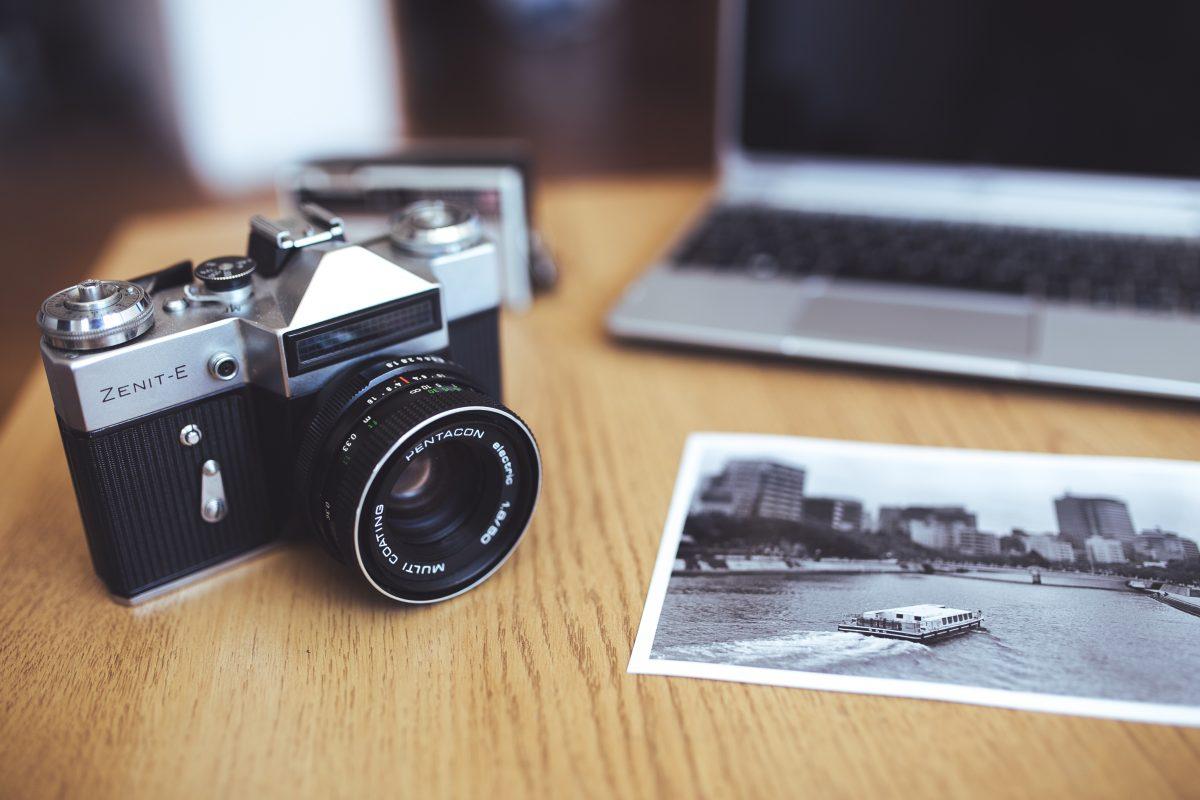 Old camera Zenit-E