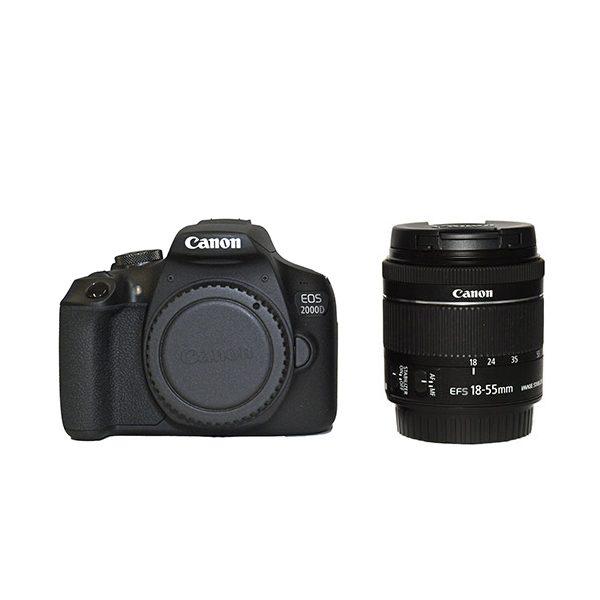 CANON EOS 2000D + 18-55 (1)