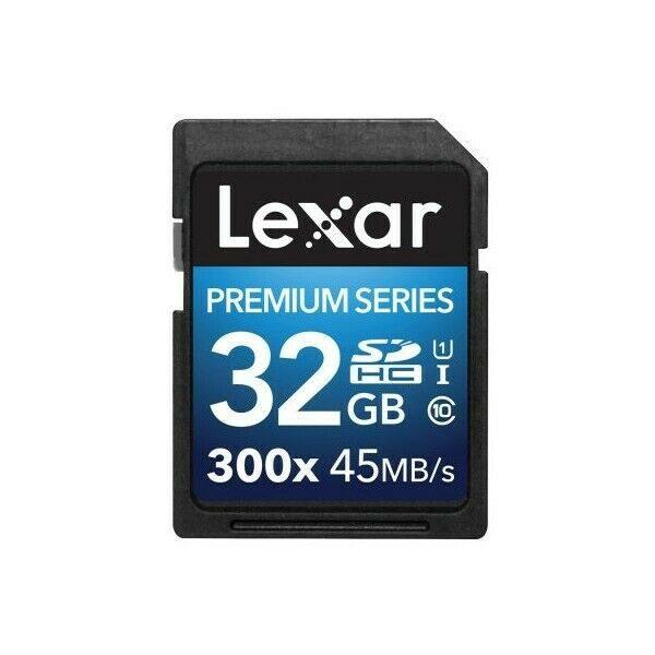 LEXAR SD 32 GB 300x