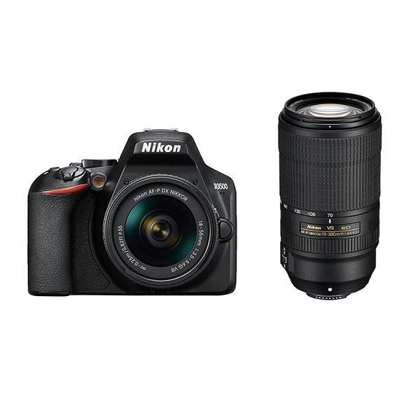 NIKON D3500 + 18-55 +70-300