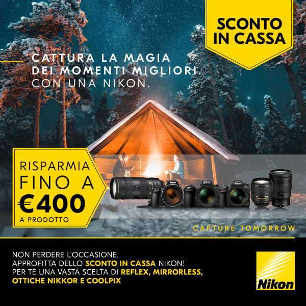 Nikon-SCONTOinCASSA