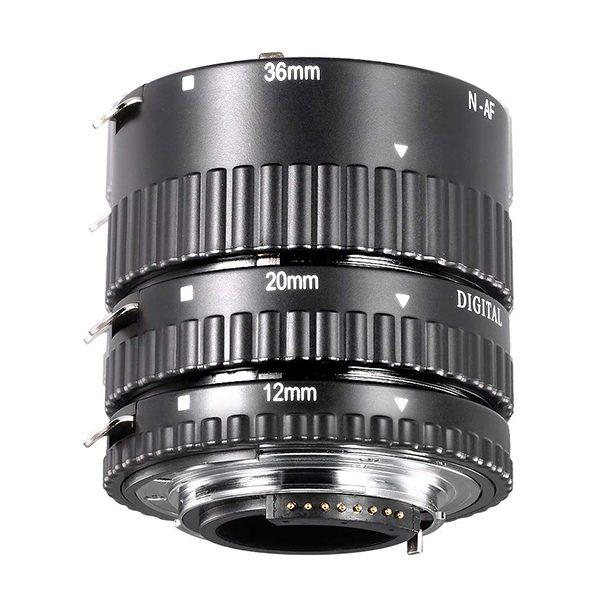 TUBI MACRO Nikon (attacco in metallo) (2)