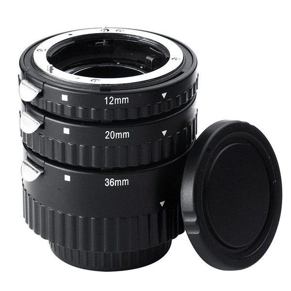 TUBI MACRO Nikon (attacco in metallo)