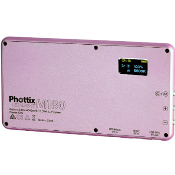 PHOTTIX - M180 LED PINK - 001